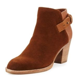 Dolce Vita Jae Suede Ankle Boots Size 6.5